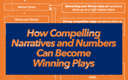How Compelling Narratives and Numbers Can Become Winning Plays