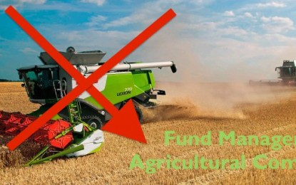 Sentiment: Fund Managers are Ditching Agricultural Commodities
