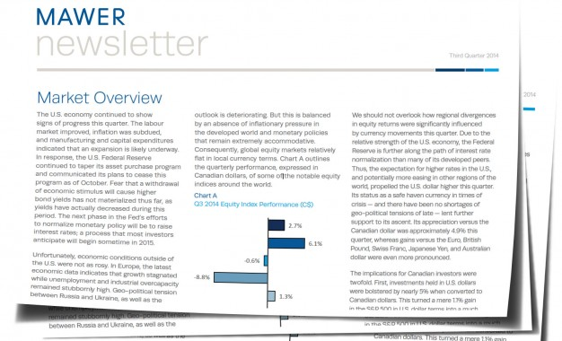 Mawer: Market Overview Q3 2014