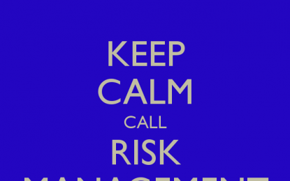 Risk Management is Back in Vogue