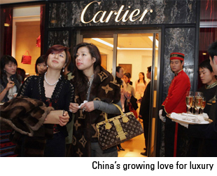 China's growing love for luxury