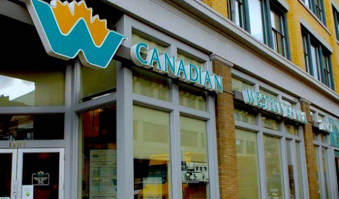 CDN WESTERN BANK (CWB.TO) TSX - Nov 16, 2017