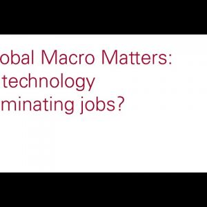 Is technology eliminating jobs?
